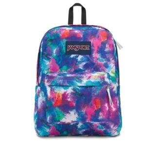 Jansport backpack - tie dye